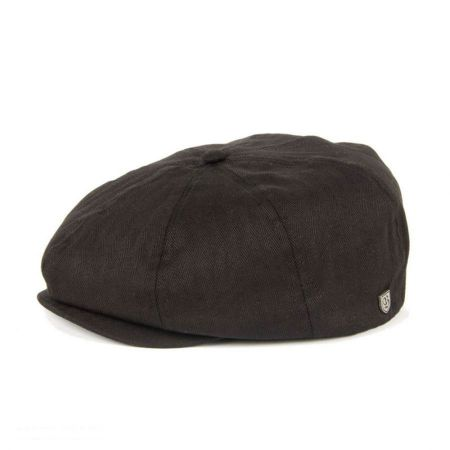 Brixton Hats Brood Herringbone Newsboy Cap