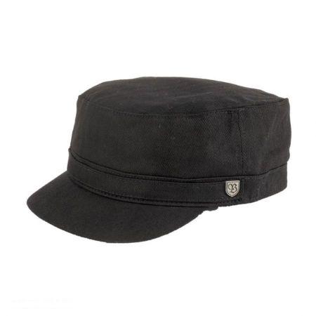 Brixton Hats Busker Herringbone Cadet Cap