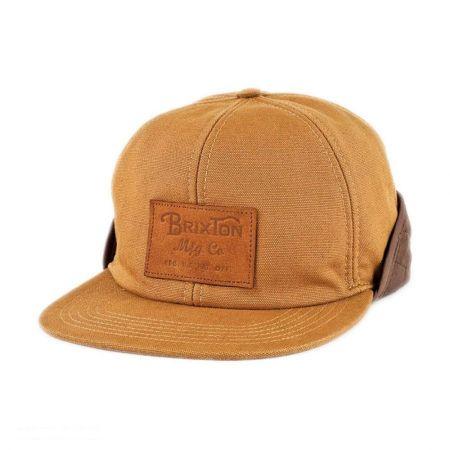 Brixton Hats Flint Earflap Baseball Cap