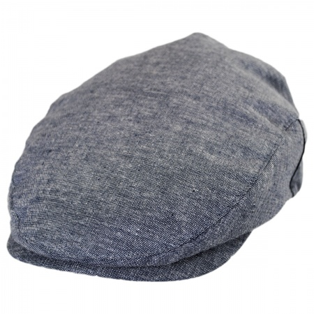 Brixton Hats Hooligan Chambray Linen and Cotton Ivy Cap