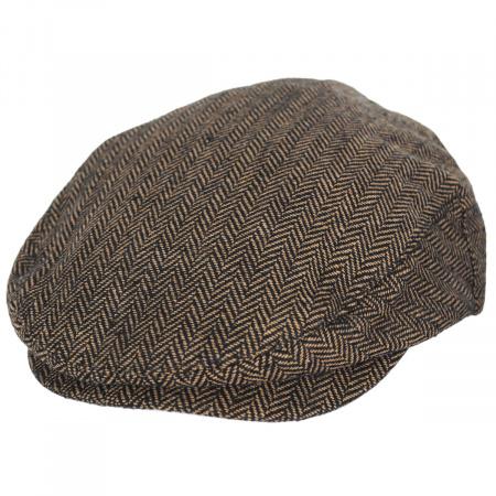 Hooligan Herringbone Wool Blend Ivy Cap