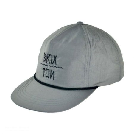 Brixton Hats Morro Snapback Baseball Cap