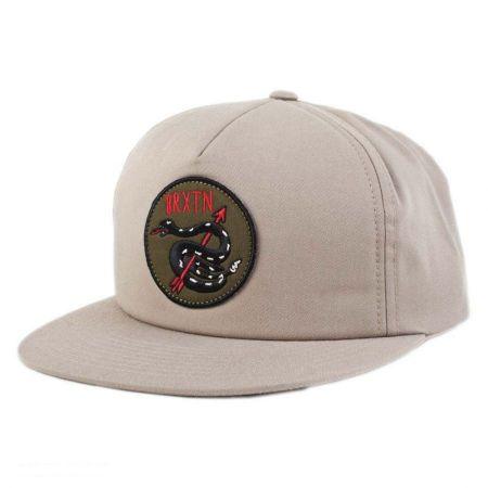 Brixton Hats Brixton Hats - Pierce Snapback Baseball Cap