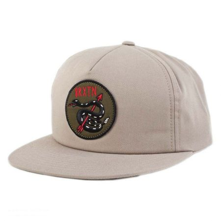 Brixton Hats Pierce Snapback Baseball Cap