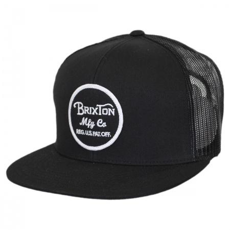 Brixton Hats Brixton Hats - Wheeler Trucker Snapback Baseball Cap