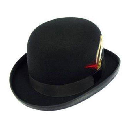 Capas Headwear Kids' Wool Felt Derby Hat