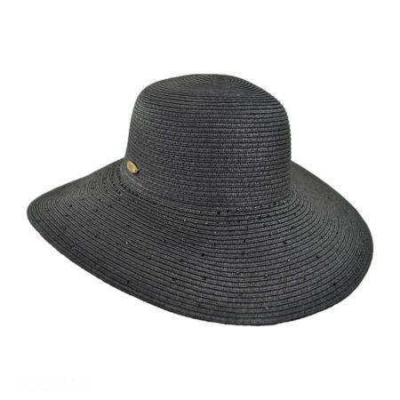 Rhinestone Floppy Hat
