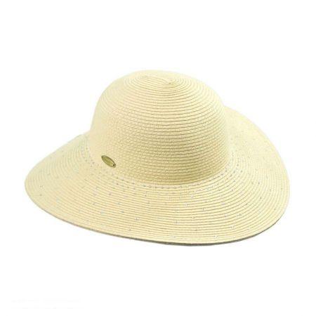 Cappelli Straworld Rhinestone Floppy Hat