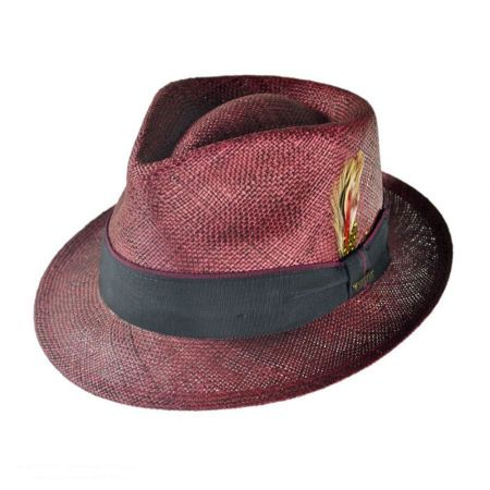 Christys' Crown Series Bao Straw Fedora Hat