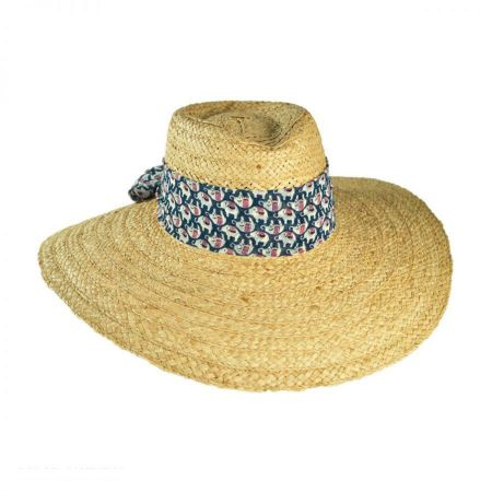Christys' Crown Series Dumbo Straw Fedora Hat