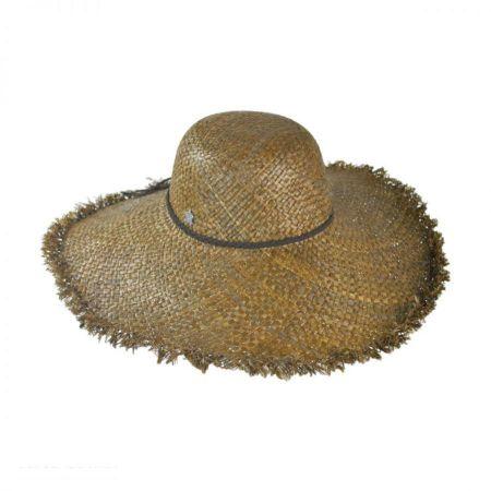 Christys' Crown Series Surf Raffia Straw Wide Brim Hat