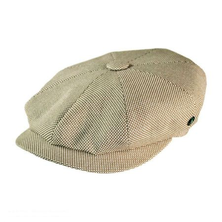 City Sport Caps Knit Cotton Newsboy Cap