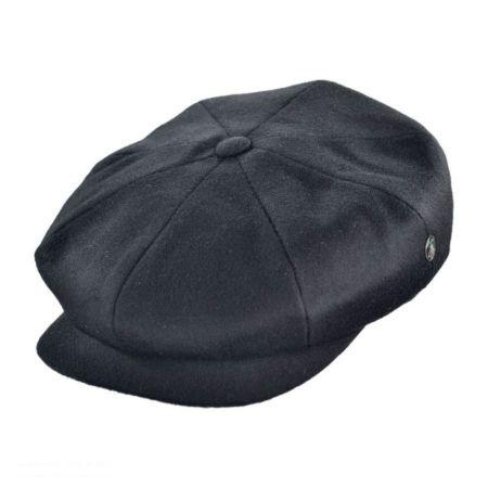 Black Wool Newsboy Cap at Village Hat Shop 7e2938a939b