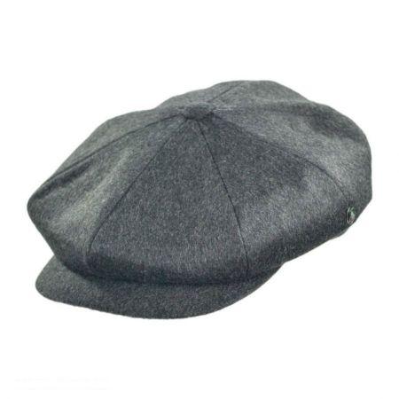 Grey Newsboy Cap at Village Hat Shop aa4c76c9d70