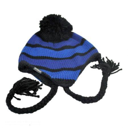 Columbia Sportswear Alpine Run Knit Acrylic Peruvian Beanie Hat