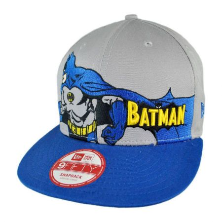 New Era DC Comics Batman Heroic Stance 9FIFTY Snapback Baseball Cap