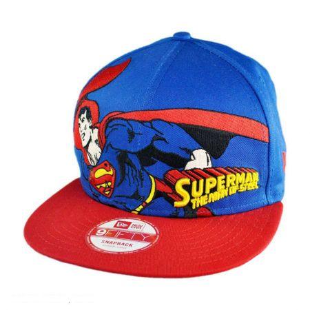 New Era New Era - DC Comics Superman Heroic Stance 9FIFTY Snapback Baseball Cap