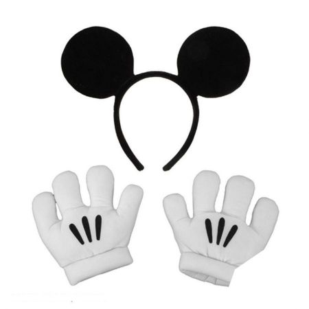 Disney Mickey Mouse Ears and Gloves