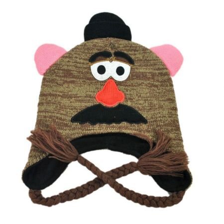 Disney Mr. Potato Head Peruvian Beanie Hat
