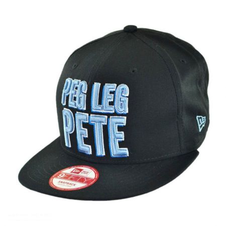 Disney Peg Leg Pete 9FIFTY Snapback Baseball Cap