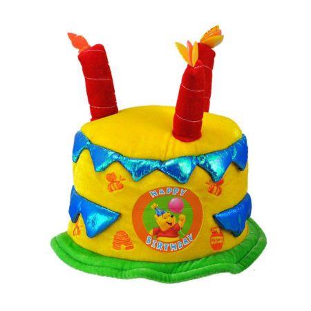 Disney Winnie the Pooh Birthday Cake Hat