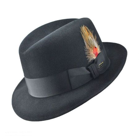 Dobbs Dutton Center Dent Fur Felt Fedora Hat
