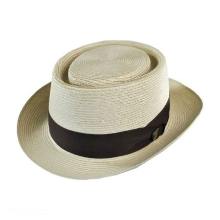 Gate Milan Straw Pork Pie Hat
