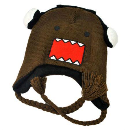Domo Headphones Peruvian Beanie Hat
