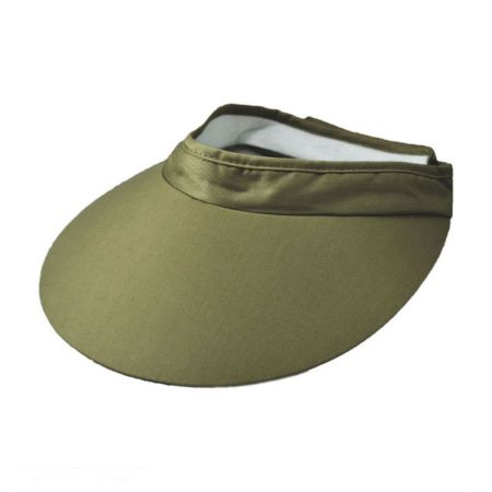 Dorfman Pacific Company Big Brim Cotton Visor
