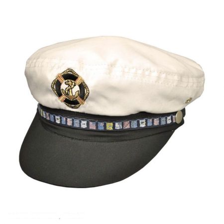 Dorfman Pacific Nautical Yacht Cap