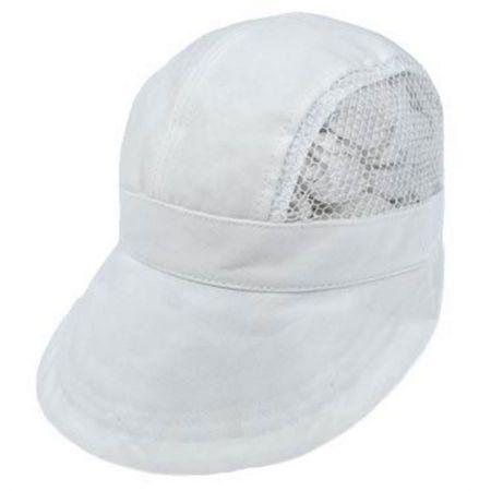 Dorfman Pacific Company Tennis Cotton and Mesh Visor Cap