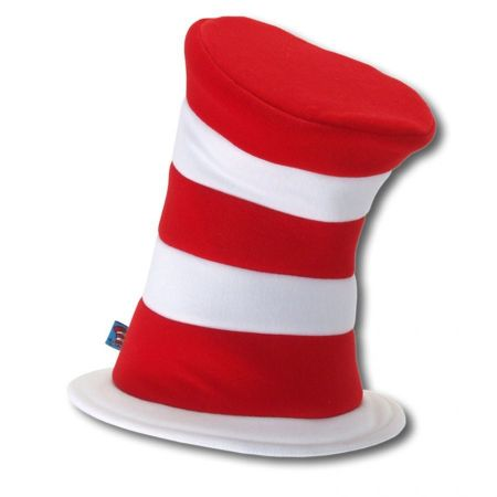 Dr. Seuss Cat in the Hat Deluxe Stovepipe Topper Hat