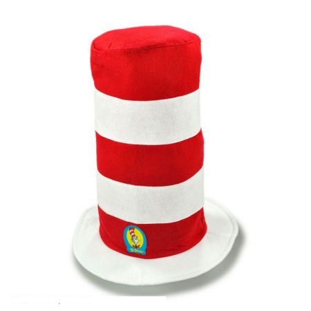 Cat in the Hat Stovepipe Topper - Adult