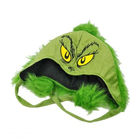 Dr. Seuss The Grinch Peruvian Beanie Hat