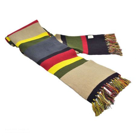 4th Doctor 12 Foot Long Deluxe Scarf