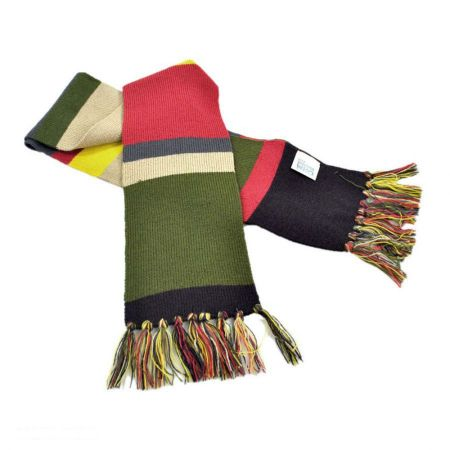 Doctor Who 4th Doctor 6 Foot Long Scarf