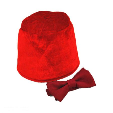 11th Doctor Who Fez and Bow Tie Accessory Kit alternate view 1