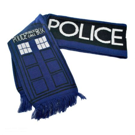 Doctor Who Dr. Who TARDIS 6 Foot Long Scarf