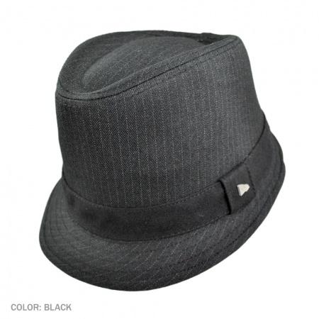 Alcee Fabric Trilby Fedora Hat