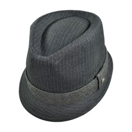EK Collection by New Era Alcee Fabric Trilby Fedora Hat