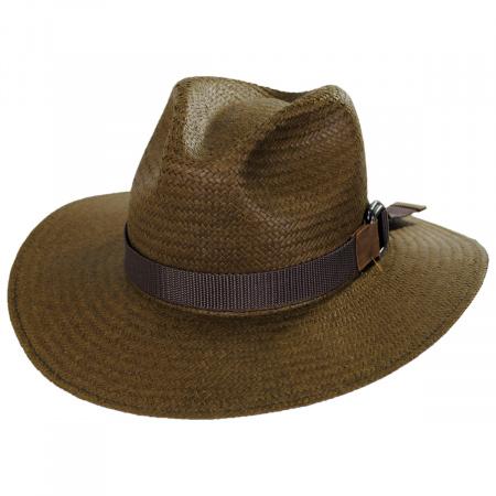 Bailey Quade Raindura Straw Fedora Hat
