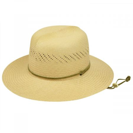 Pantropic River Panama Straw Roll-Up Hat