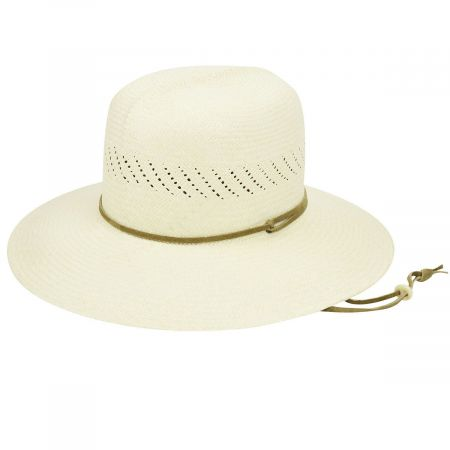 Pantropic River Panama Straw Roll-Up Hat