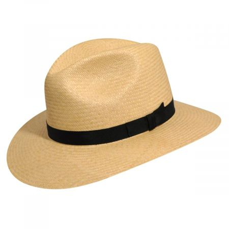 Pantropic Player Panama Straw Fedora Hat
