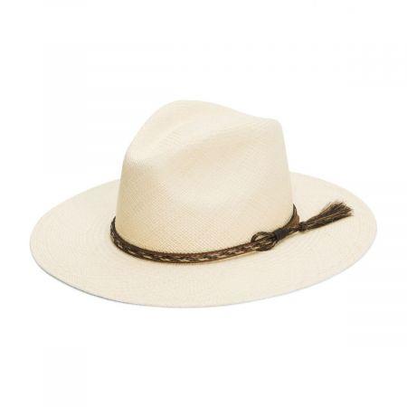 Weltmeyer Panama Straw Crossover Hat