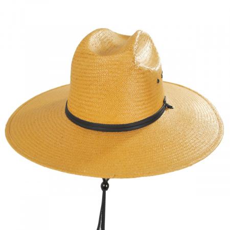 Harcourt Shantung Straw Cattleman Western Hat alternate view 5