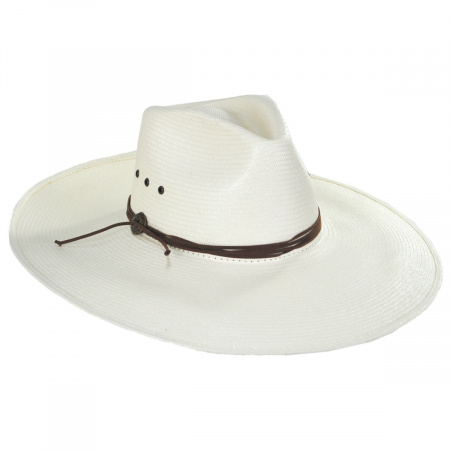 Canopy Shantung Straw Western Hat alternate view 5