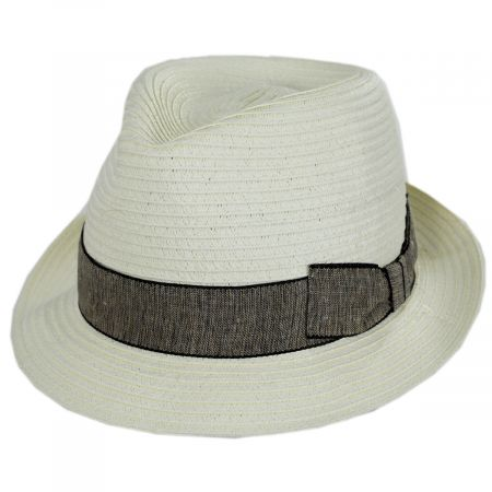 Luigi Toyo Straw Fedora Hat alternate view 17