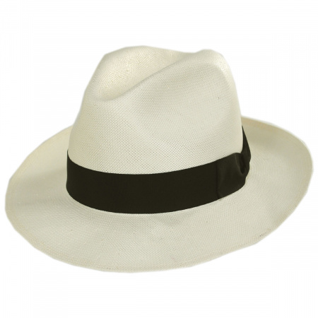 Nice Shantung Straw Fedora Hat alternate view 9