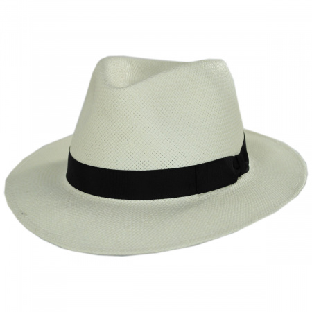 Cannes Toyo Straw Fedora Hat alternate view 17